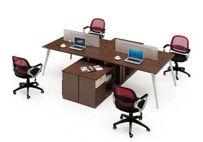 现代职员办公桌系列-001