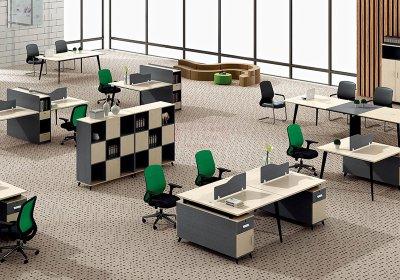 现代职员办公桌系列-004
