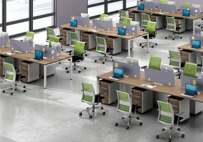 现代职员办公桌系列-005