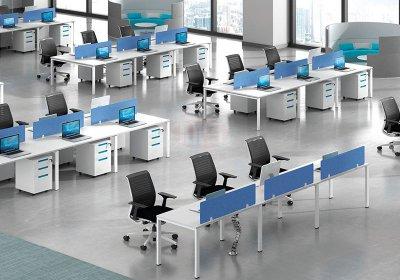 现代职员办公桌系列-006