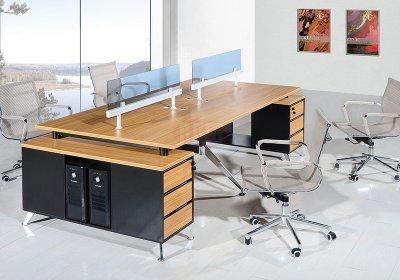现代职员办公桌系列-011
