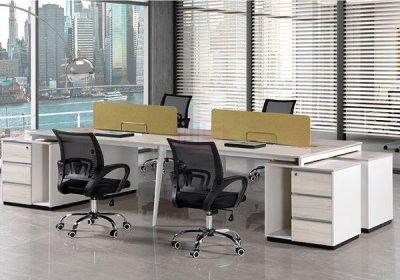 现代,职员,办公桌,系列,-018,
