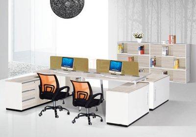 现代,职员,办公桌,系列,-020,